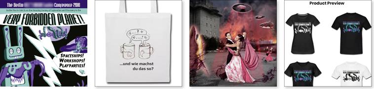 Ausschnitte aus Grafikdesign für Buchcover, Buchumschlag, Ebook Cover, Coverdesign, Merchandise-Artikel, Werbegeschenk, T-Shirt, Tasche, digitale Collage