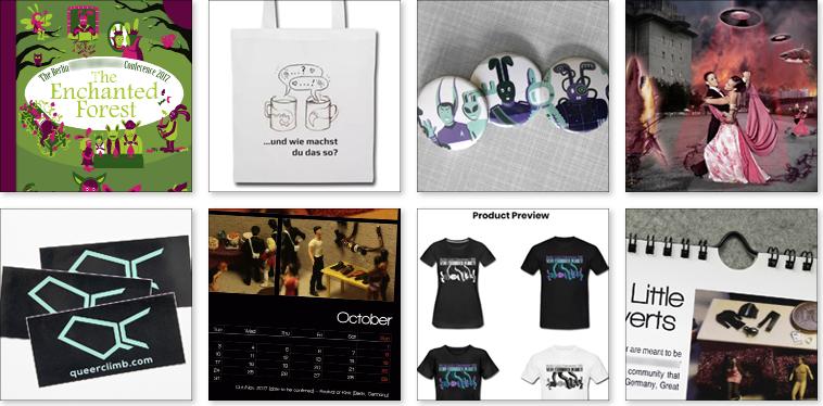 Ausschnitte aus Grafikdesign für Buchcover, Buchumschlag, Ebook Cover, Coverdesign, Merchandise-Artikel, Werbegeschenk, T-Shirt, Button, Kalender, Aufkleber, Tasche, digitale Collage